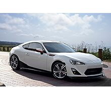 Sports Coupe Photographic Print