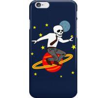 Space Office Skeleton iPhone Case/Skin