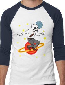Space Office Skeleton Men's Baseball ¾ T-Shirt