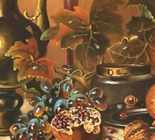 Autumn Still Life Sticker