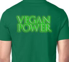 VEGAN, Vegan Power, Raw, Veganism, Strict Vegetarians, Vegetables, Diet, non-dairy vegetarian Unisex T-Shirt