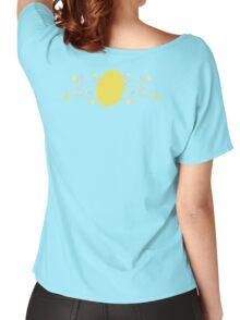 Lemon Swirl Graphic Women's Relaxed Fit T-Shirt