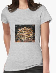 Fungi swarm Womens Fitted T-Shirt