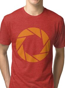 Aperture Science (Orange) Tri-blend T-Shirt