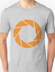 Aperture Science (Orange) Unisex T-Shirt