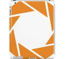 Aperture Science (Orange) iPad Case/Skin