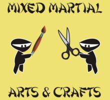 Mixed Martial Arts Crafts Kids Tee
