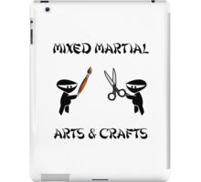 Mixed Martial Arts Crafts iPad Case/Skin