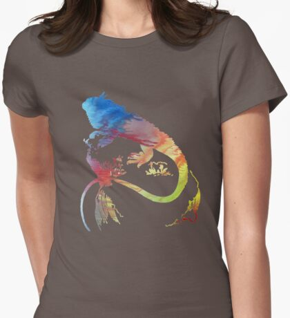 Iguana  Womens Fitted T-Shirt