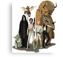 avatar/star wars crossover Canvas Print