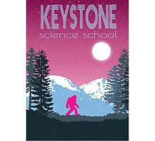 Keystone Science School Travel Poster Photographic Print