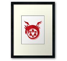 Fullmetal Alchemist Brotherhood Symbol Framed Print