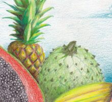 Island Fruit Splash Sticker