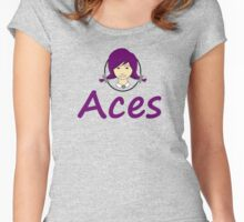 Aces Women's Fitted Scoop T-Shirt
