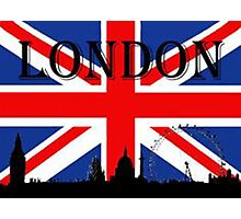England Flag Photographic Print