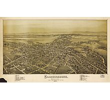 Chambersburg Pennsylvania burned by rebel cavalry July 30th 1864 Photographic Print