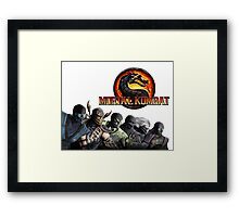 Mortal Kombat X #1 Framed Print