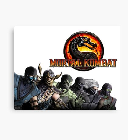 Mortal Kombat X #1 Canvas Print
