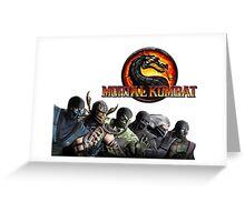 Mortal Kombat X #1 Greeting Card