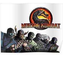 Mortal Kombat X #1 Poster