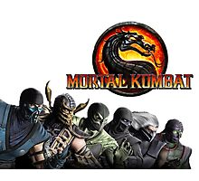 Mortal Kombat X #1 Photographic Print