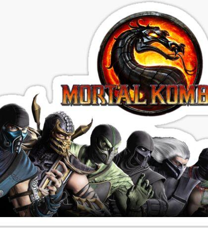 Mortal Kombat X #1 Sticker