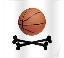 Pirate Basketball Poster