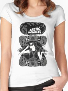 Arctic Monkeys by remi42 Women's Fitted Scoop T-Shirt