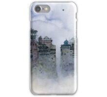 gray moon iPhone Case/Skin