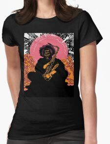 Kamasi Washington Womens Fitted T-Shirt