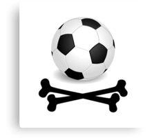 Pirate Soccer Canvas Print