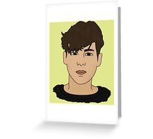 Character Male - Aiden Greeting Card