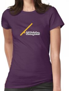 Littlejohn - Literally Translated Metro Map Womens Fitted T-Shirt