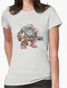 Thomas The Assault Engine Womens Fitted T-Shirt