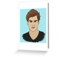 Character Male - Theodore Greeting Card