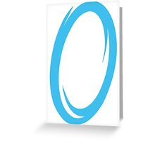 Blue Portal Greeting Card