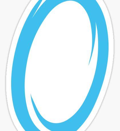 Blue Portal Sticker