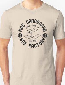 MGS Cardboard Box Factory Unisex T-Shirt