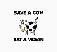 Save Cow Vegan Unisex T-Shirt