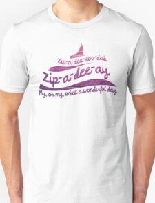 Zip-a-dee-doo-dah Unisex T-Shirt