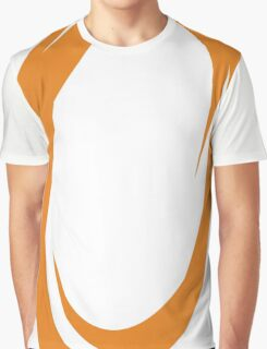 Orange Portal Graphic T-Shirt