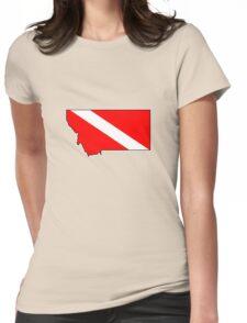 Dive flag Montana outline T-Shirt