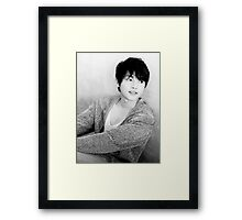 Song Joong Ki Framed Print