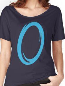 Blue Portal Women's Relaxed Fit T-Shirt