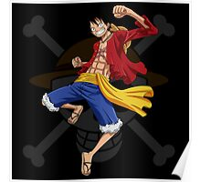 Luffy the Pirates 028 - Onepiece Poster