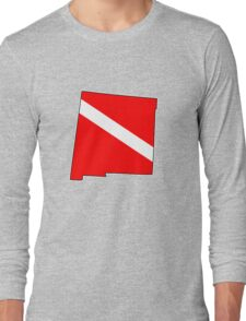 Dive flag New Mexico outline T-Shirt