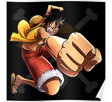 Luffy the Pirates 033 - Onepiece Poster