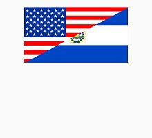 usa el salvador half flag Unisex T-Shirt