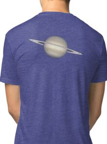 SATURN, NASA, ESA, Ring, Space, Planet, Hubble, Telescope, Astronomy Tri-blend T-Shirt