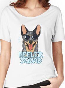 HEELER SQUAD (blue) Women's Relaxed Fit T-Shirt